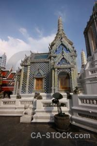 Bangkok temple of the emerald buddha southeast asia gold buddhist.