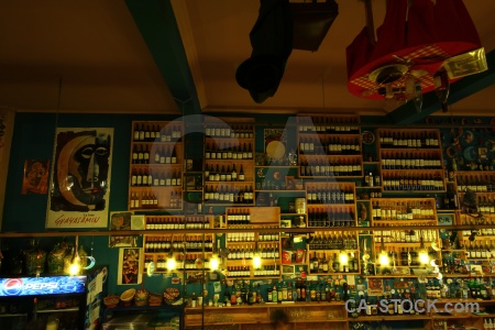 Bar inside upside down south america punta arenas.