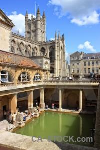 Bath blue europe green roman baths.