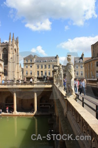 Bath water europe pool roman baths.