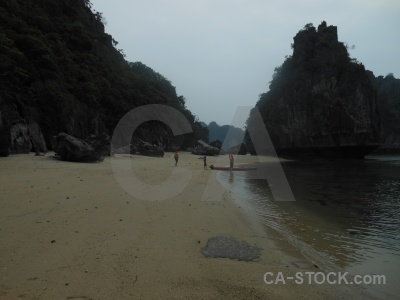 Beach sea vinh ha long unesco vietnam.
