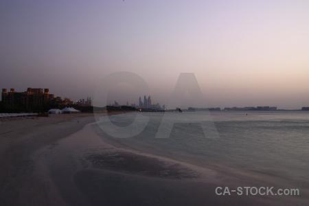 Beach water western asia sky uae.