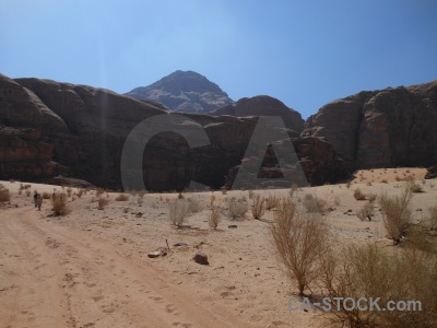 Bedouin wadi rum desert western asia jordan.
