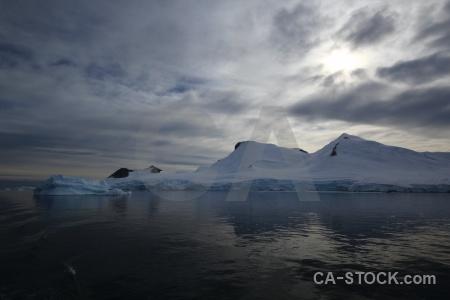 Bellingshausen sea antarctic peninsula cloud marguerite bay water.