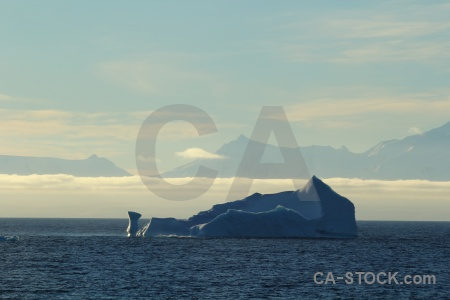 Bellingshausen sea cloud iceberg antarctica antarctic peninsula.