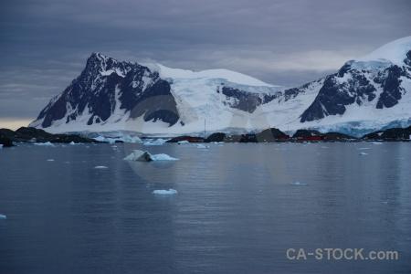 Bellingshausen sea landscape marguerite bay mountain antarctica cruise.