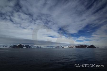 Bellingshausen sea snow landscape ice antarctic peninsula.