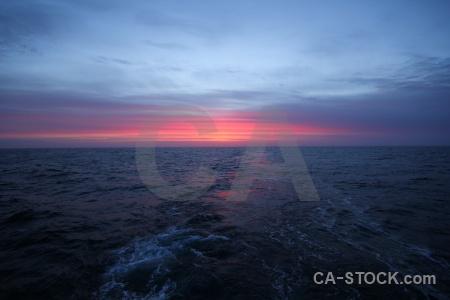 Bellingshausen sea sunrise cloud day 7 antarctica.