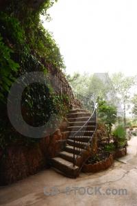 Benidoleig cave cueva de las calaveras staircase rock.