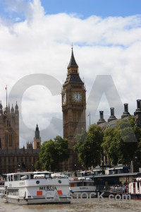 Big ben building london westminster uk.