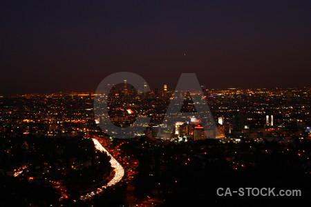 Black cityscape night.