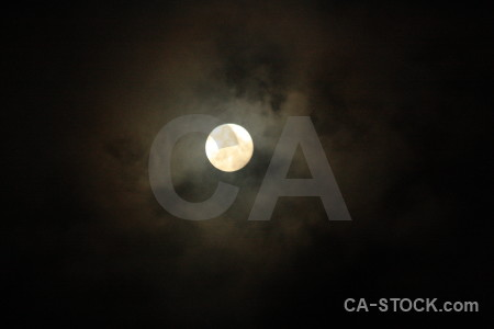Black moon cloud.