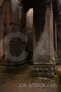 Block buddhist cambodia prasat bayon southeast asia.