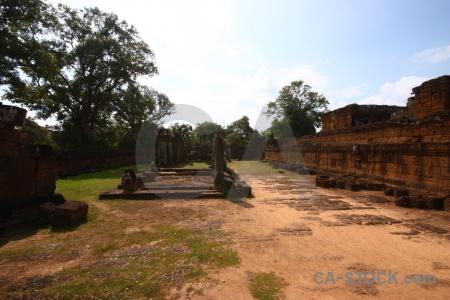 Block lichen khmer fungus buddhism.