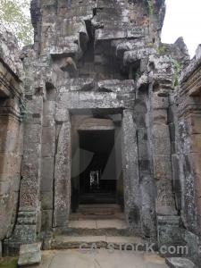 Block temple fungus cambodia khmer.
