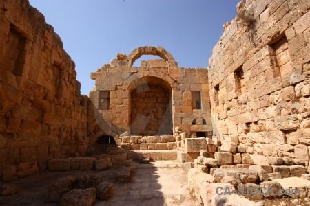 Block western asia middle east roman archway.