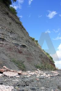 Blue cliff rock.