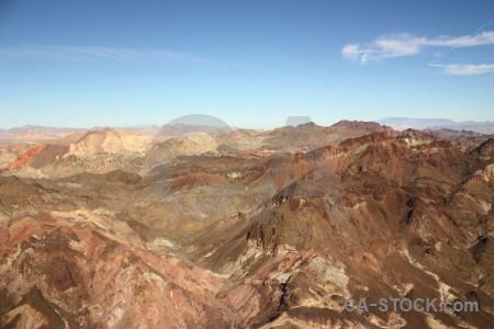 Blue rock landscape mountain desert.