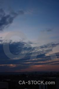 Blue sky cloud.