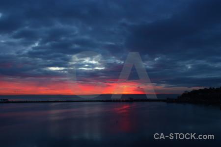 Blue sky cloud sunset sunrise.