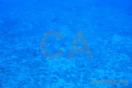 Blue underwater.