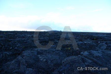 Blue white lava volcanic.