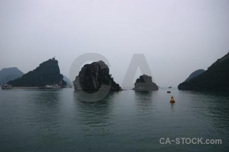 Boat asia ha long bay sea vehicle.