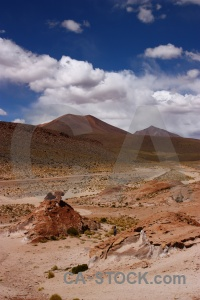 Bolivia landscape altitude sky mountain.