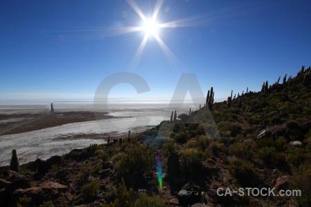 Bolivia salt sun sky salar de uyuni.