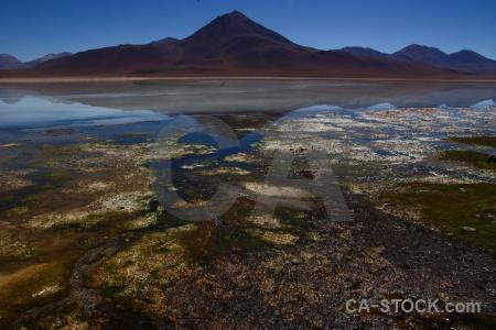 Bolivia sky laguna blanca water mountain.