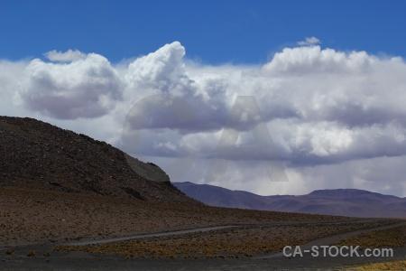 Bolivia sky landscape altitude laguna chalviri.