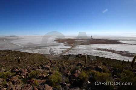 Bolivia sky landscape salt south america.
