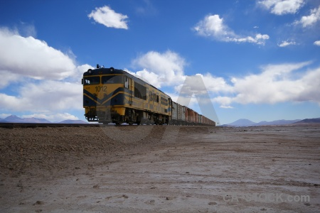 Bolivia track altitude railway south america.