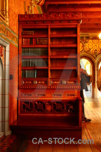 Bookshelf interior building object furniture.