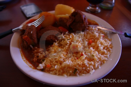Bowl food south america altitude argentina.