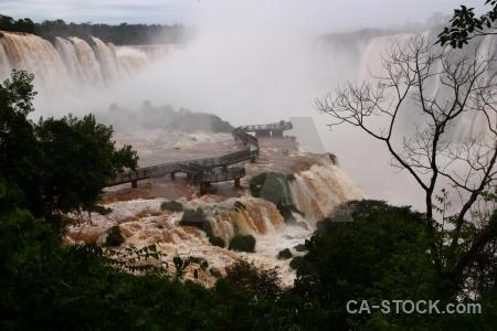 Brazil south america iguazu falls iguacu iguassu.