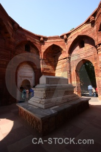 Brick archway india monument south asia.