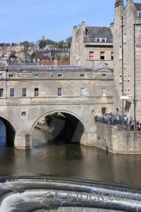 Bridge archway building.