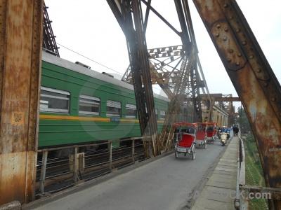 Bridge asia southeast beam vietnam.