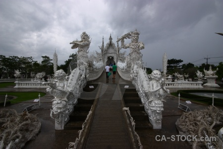 Bridge thailand ornate sky southeast asia.