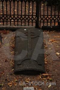 Brown cemetery grave statue.