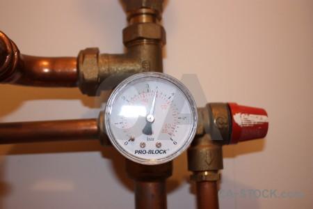 Brown meter scientific object.
