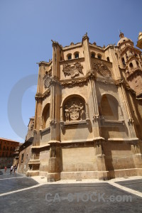 Brown murcia spain cathedral of iglesia catedral de santa maria.
