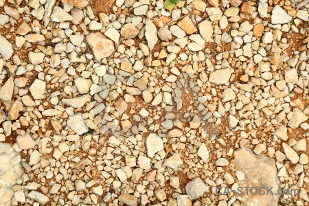 Brown orange texture stone gravel.