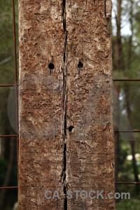 Brown post texture wood.