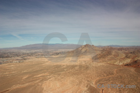 Brown rock desert landscape mountain.