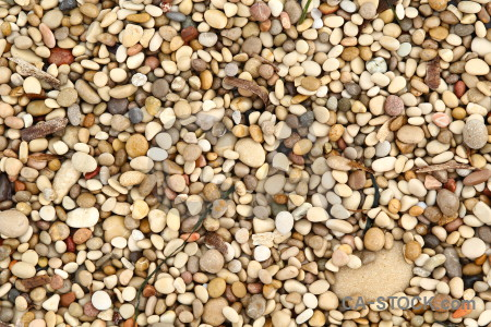 Brown texture gravel stone.