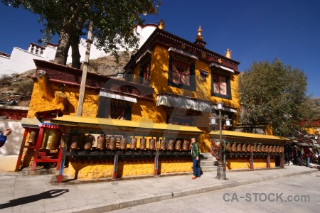 Buddhism altitude china sky tibet.