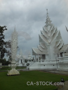 Buddhism chiang rai temple thailand wat rong khun.