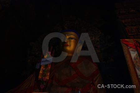 Buddhism inside shekar gyantse palcho monastery china.